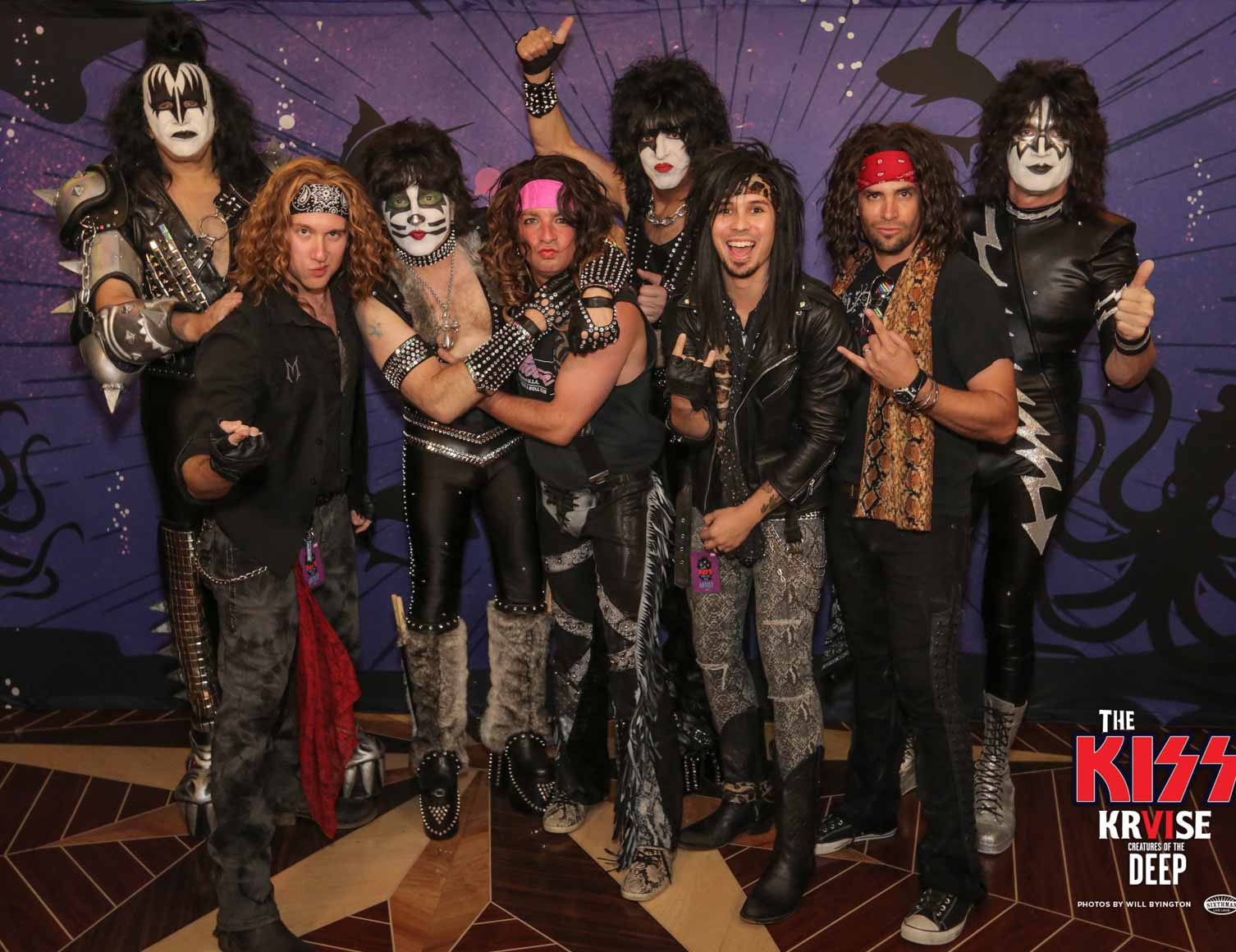 Hanging out with KISS aboard the KISS Kruise VI!